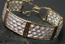 Wire Wraps - Bracelets / by Sherry Fox