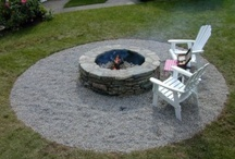 Fire pit ideas / by Angie Gregory