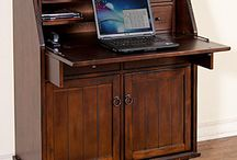 Back to School ~ Desks & Bookshelves / http://www.lafuente.com/Rustic-Furniture/