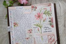 Akvarelli ja päiväkirja