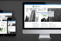 Web Design / Recent web design projects designed and developed by Design By Friday.