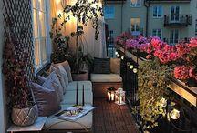 terrazzo/angoli verdi