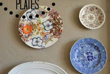 Plates on wall's oh my!