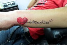 Mom dad tattoos