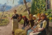 Yağlı boya tablolar ve tablo fotoğrafları. / Resim fotoğrafları. / by Feyzi Gürcan Dönmez
