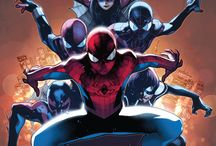 "Olivier Coipel Spider-Man Art / An icon in the comic book industry, Olivier Coipel is best known in Spidey circles for being the artist behind ""Spider-Verse"""