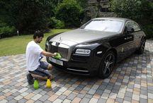 Zakázky / Fotogalerie vozů, které již prošly naší péčí .... Xwash suché mytí a čištění vozů