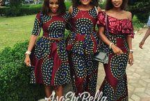 african wedding brides maid dresses
