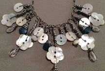 šperky z knoflíků