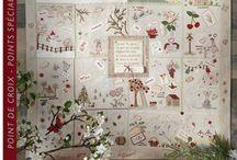 Brodez au fil des Saisons - Marie Suarez / Libro de bordado tradicional de Marie Suarez en www.lacasinaroja.com