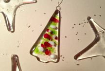 Christmas Decorations / Fabulous Glass Ornaments for your Christmas Tree or your Home during the Festive Season.