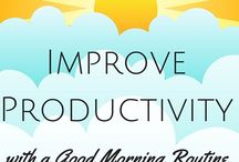 Daily Routines / Create daily routines, morning routines, or evening routines to simplify your life and increase productivity.