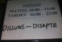 Errors ortògrafics i curiositats en català / Tauler dedicat als erros al hora                  d'aplicar la llengua catalana.