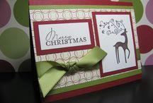 Handmade christmas cards / ideas