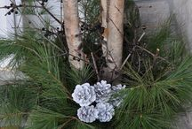 Christmas Outdoor Planters