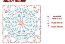 granny squares / Crochet (granny) squares