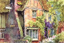 Home and Garden In Art ♥