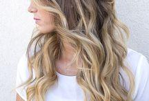 Wedding hair and makeup <3