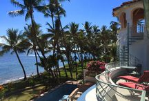 Blue Sky Villa Maui / Ocean front vacation rental house on the beach in Lahaina Maui