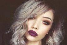 Grey hair young / Capelli volutamente grigi
