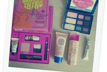 Preparando el maquillaje / Productos de maquillaje
