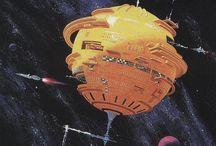 sci-fi art / sci-fi, retrofuturism, cosmic