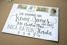 Paper & Lettering / Lettering and paper crafts / by Valerie Paige