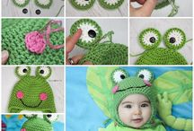 Animal Crochet Hat Patterns for Beginners / Animal Crochet Hat Patterns for Beginners / by Strawberry Couture Etsy Unique Crochet and Knit Hats Scarves Patterns