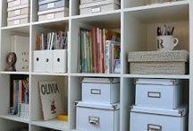 home office / biurka, regały, krzesła, pudełka, pojemniki