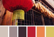 Kleur combinaties / Ontdek hier uw favoriete kleur combinatie voor elke stemming, sfeer en gevoel