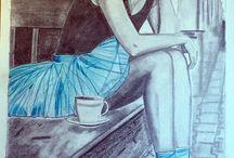dibujos artisticos