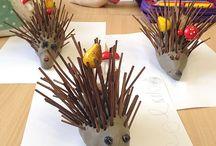 Zvířata - ježek