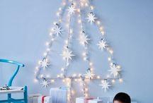 Árbol de Navidad pared