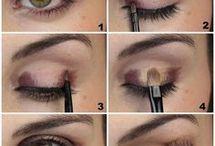 tuto maquillage yeux vert