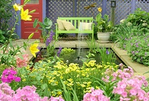Landscape Colors / Interesting color palettes from landscape designs and styles. Finding the beauty in the landscape. #landscape #design