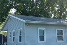 "Rock River House / We re did the roof on the house, garage and what the home owner calls the ""man cave"""