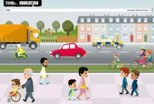 Road safety around the world / Links to road safety education programmes around the world.