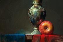 Still life in art / Still life in art. Oils watercolour mixed media photography