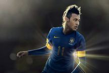 Neymar / Neymar da Silva Santos Júnior, commonly known as Neymar or Neymar Jr., is a Brazilian professional footballer who plays as a forward for French club Paris Saint-Germain and the Brazil national team Born: 5 February 1992 (age 25),   Height: 1.75 m Salary: 9.18 million EUR (2016) Current teams: Paris Saint-Germain F.C. (#10 / Forward), Brazil national football team (#10 / Forward) Did you know: Neymar has the world's third-largest sports contract ($270,000,000, with the Paris Saint Germain)