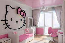 deco chambre fille ! / by Rosa B