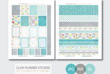 Planner freebies & stickers