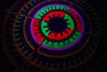 UV Mandala / UV active colors
