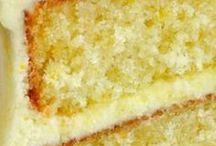 recipes / lemon velvet cake