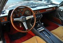 Fiat Dino Coupé 2400 interieur