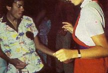 Michael Jackson and girls