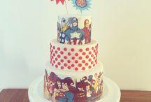Торты с супергероями
