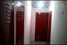 Pintado Puertas Trasteros / Ver mas fotos de pintado de puertas de trasteros en la web: https://pinturasurbano.wordpress.com/fotos/pintado-puertas-trasteros/