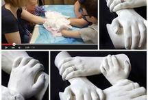 manos/yeso