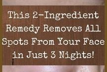Face remedies