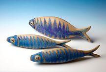 Ceramic - poissons